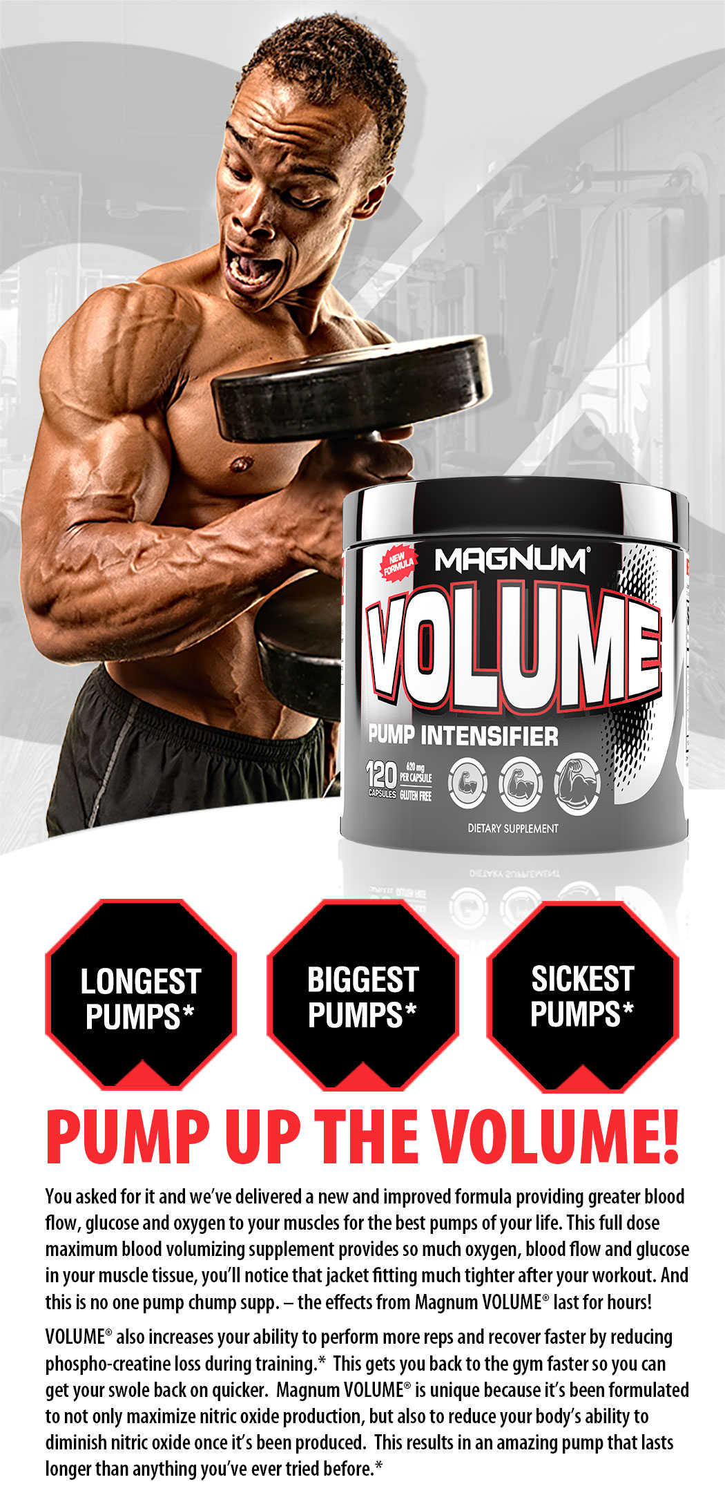 Volume supplement info